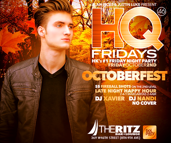 Berlin Fridays NYC Flyer