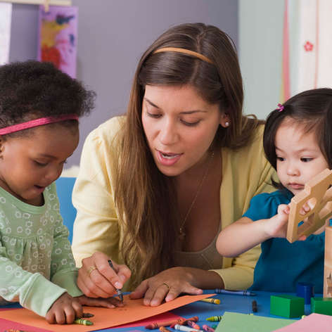italienische Kindergärtnerinnen in Deutschland