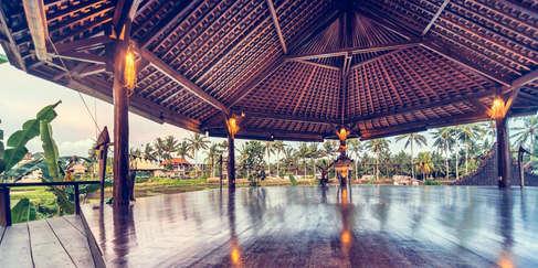 Yoga studio in Bali