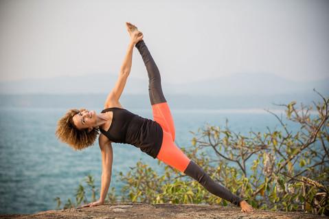 Joanna Vladescu yoga teacher in Greece