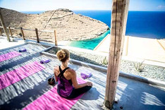 Alpha Yoga School | Join Alpha Yoga School for 200-hr residential, all inclusive Vinyasa Flow and Ashtanga Vinyasa Yoga Teacher Training in Greece, Bali, India, and Spain | Expand your yoga teaching skills on the 300-hour Vinyasa Flow Advanced Yoga Teacher Training Intensive in Greece | Residential, All-Inclusive Yoga Teacher Training in Greece, Bali, India, Spain | Deepen your yoga practice | Experienced Yoga Teachers | Learn safe yoga asana alignment and adjustment, functional yoga anatomy, and yoga philosophy | Practice meditation and pranayama techniques | Study yoga teaching methodology and vinyasa sequencing | Come as a yoga student, leave as a yoga teacher | Teachers trained in India | Yoga Teacher Training in India | Yoga Teacher Training in Bali | Yoga Teacher Training in Spain | Study yoga in an open air yoga studios in luxurious retreat center in South Europe, Greece | Alpha Yoga School Teacher Training Courses are registered with Yoga Aliance USA and Yoga Professionals UK