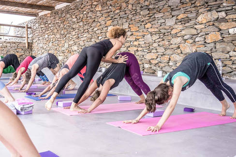 Yoga retreat in Greece summer 2020 | Location by the beach |