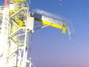Torre de acesso (Gangway) para porto do Açu