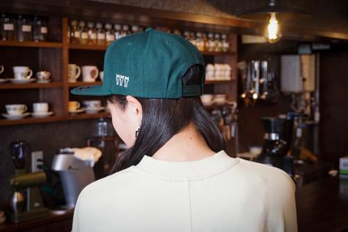 Flat visor cap #3.5 三馬green