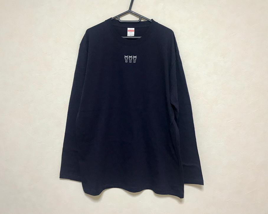 Long sleeve T-shirt #01 Navy blue