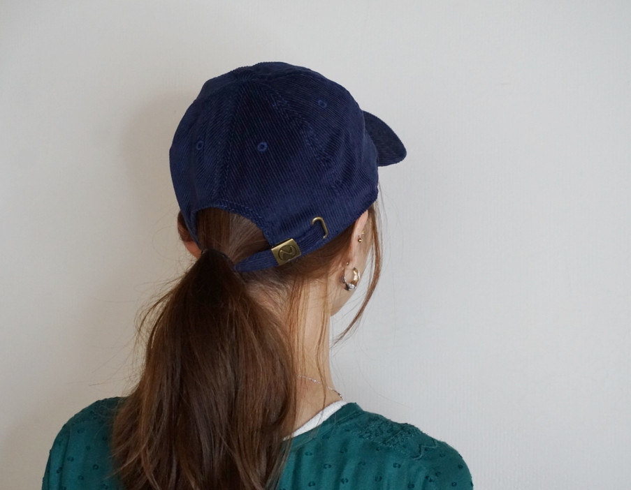 Corduroy Cap #01