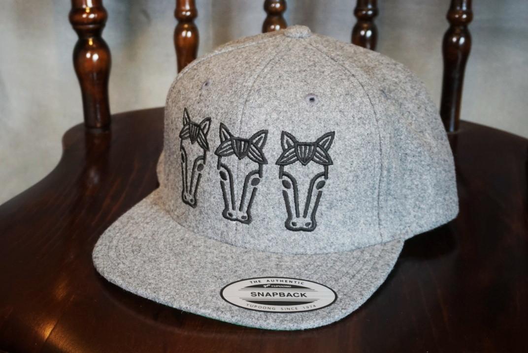 Flat visor cap #02