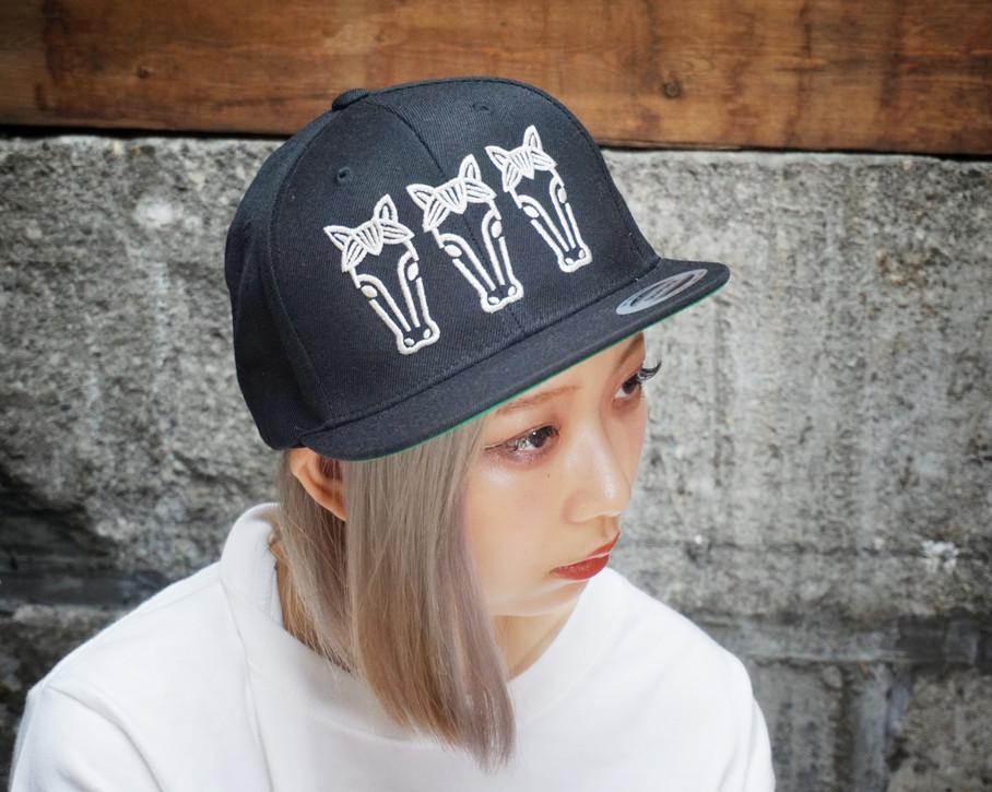 Flat visor cap #01
