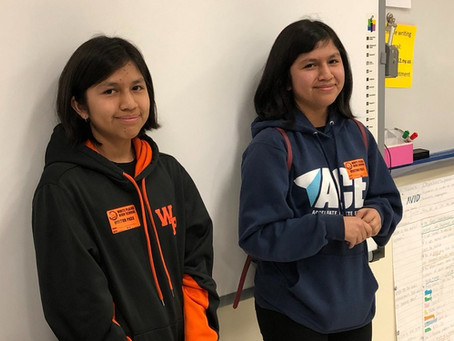 AVID Alumni Visit 9th Graders