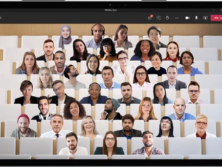 """Microsoft Teams : Nouveautés et """"Together Mode"""", la nouvelle fonction pour des réunions plus fun."""