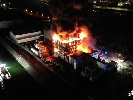 Incendie chez OVH Strasbourg