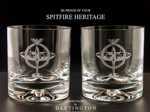 SPITFIRE HERITAGE Dartington Crystal Glassware
