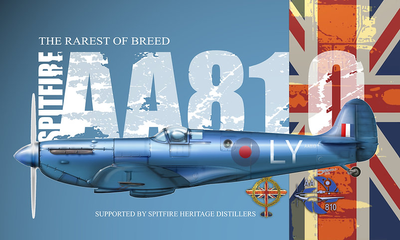 Spitfire AA810 Jarman With background.jp