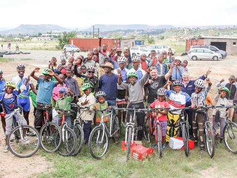 Mountain Bikes to Lesotho Gallery