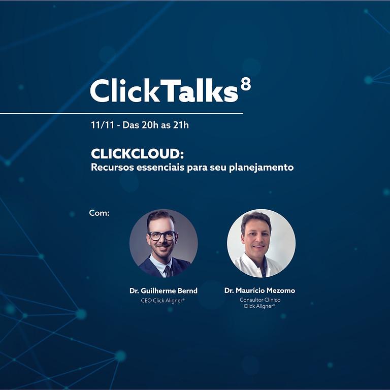 Click Talks 8 - CLICKCLOUD:  Recursos essenciais para seu planejamento
