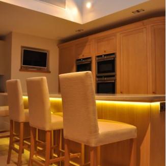 Professionally designed lighting