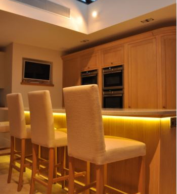 Professionally designed lighting