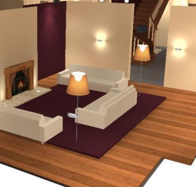 VR 3d Lighting service uk