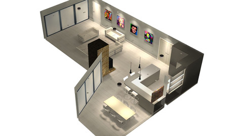 3D Lighting Design plans Home lighting solutions