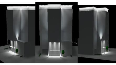3D Lighting Design uk london LED smart V