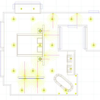 Lighting Design with london Cinima Lighting Consultants