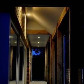 Exterior architectural lighting design