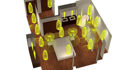 Self Buld gallery lighting design services, we offer 2D and 3D lighting plans