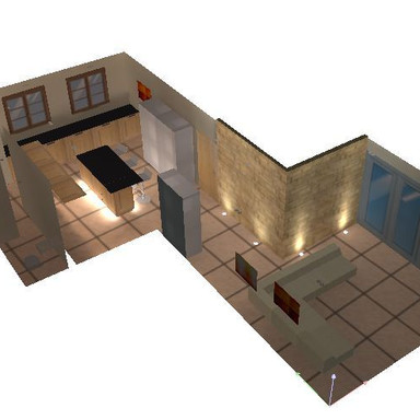 3D Lighting design Oxford UK