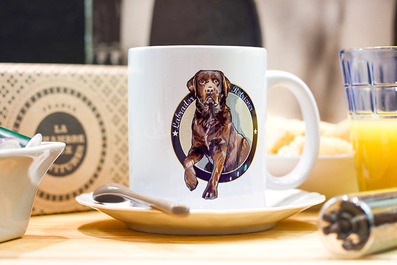 My Mug Collection - Labrador Chocolat -