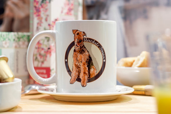 My Mug Collection - Airedale Terrier -