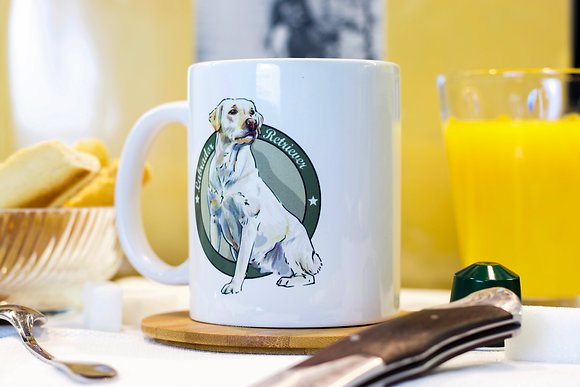 My Mug Collection - Labrador Sable -