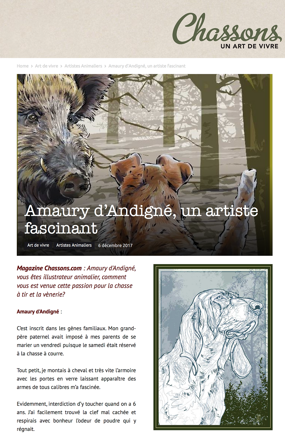 https://www.chassons.com/amaury-dandigne-artiste-fascinant/