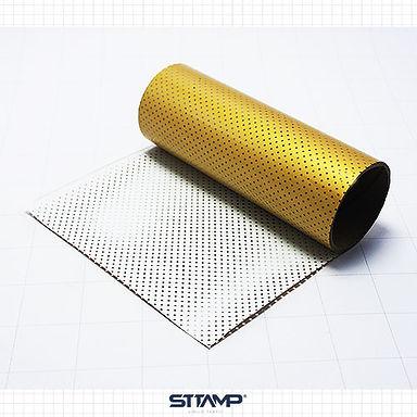 Microperforado Dorado