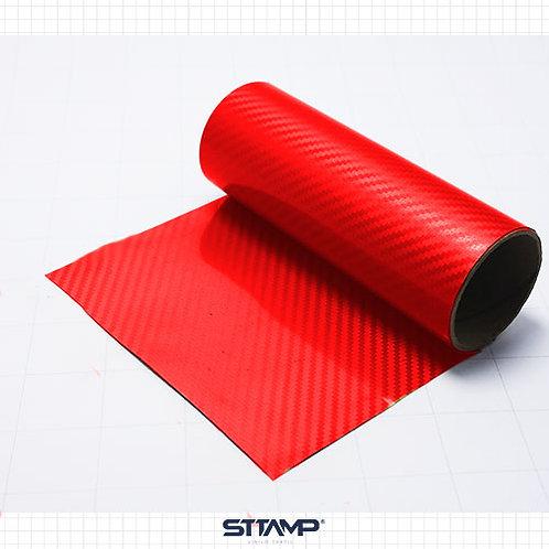 Fibra de Carbono Rojo