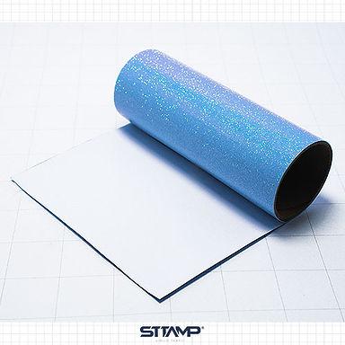 Glitter Azul Neon