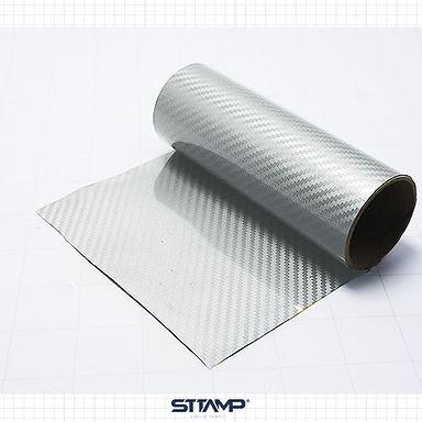Fibra de Carbono Plata