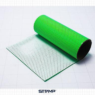 Microperforado Verde Neon