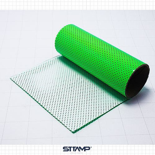 Microperforado Verde Neon
