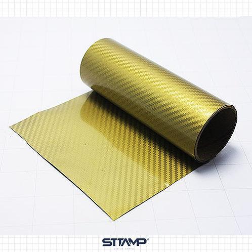 Fibra Carbono Dorado