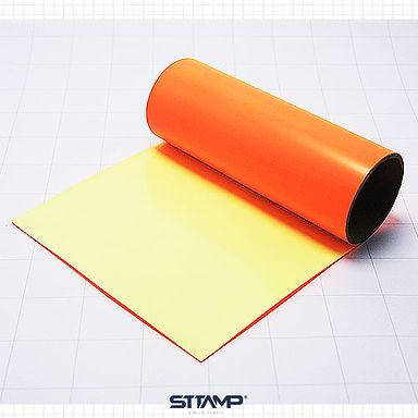 Naranja NEON PVC