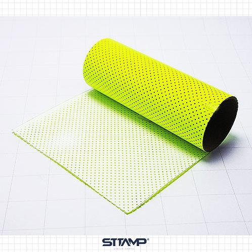 Microperforado Amarillo Neon