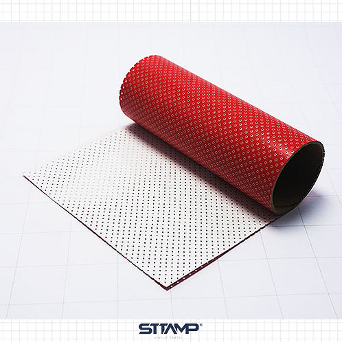 Microperforado Rojo