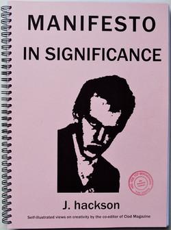 Manifesto in Significance