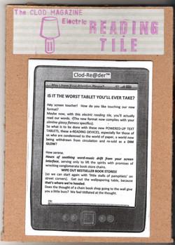 Clod Magazine Reading Tile