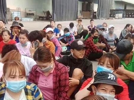 Giám đốc người Trung Quốc bỏ về nước: Hàng trăm công nhân bị nợ lương