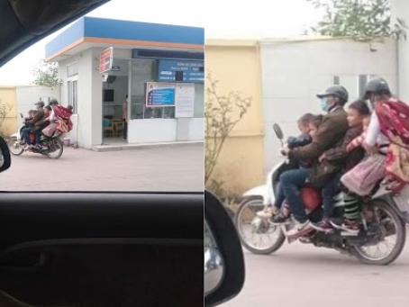 Vợ chồng nghèo chở 5 con thơ trên xe cũ xẹp nửa lốp: Tìm việc làm nhưng không ai nhận
