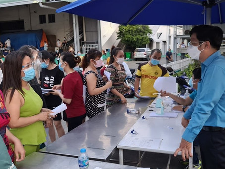 Bình Dương: Hơn 210.000 lao động bị nghỉ việc, nhưng không đủ điều kiện hưởng hỗ trợ theo nghị quyết