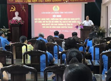 Định vị công đoàn trên mặt báo LĐO: Triển khai các nghị quyết của Bộ Chính trị tới cán bộ công đoàn