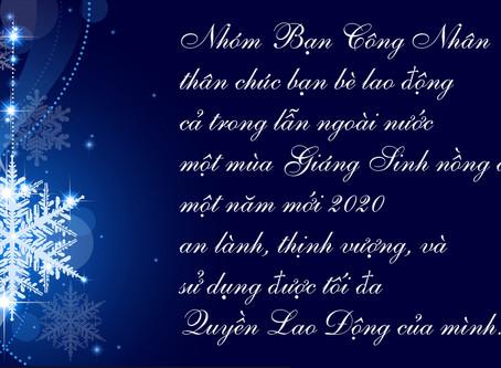 Chúc Mừng Giáng Sinh 2019