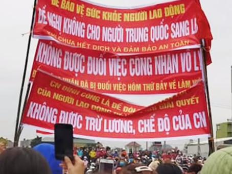 Vietnam - Spontaneous strike